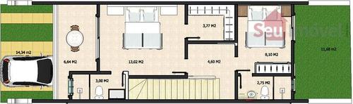 casa  residencial à venda, centro, eusébio. - ca0140