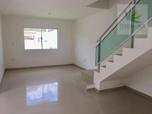 casa residencial à venda, centro, eusébio. - ca0722