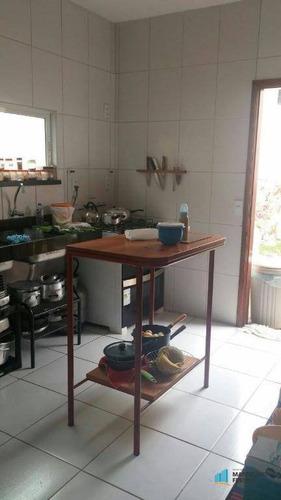casa residencial à venda, centro, eusébio - ca1231. - ca1231