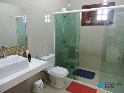 casa residencial à venda, centro, eusébio. - codigo: ca1448 - ca1448
