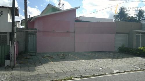 casa residencial à venda, centro, joão pessoa - ca0580. - ca0580