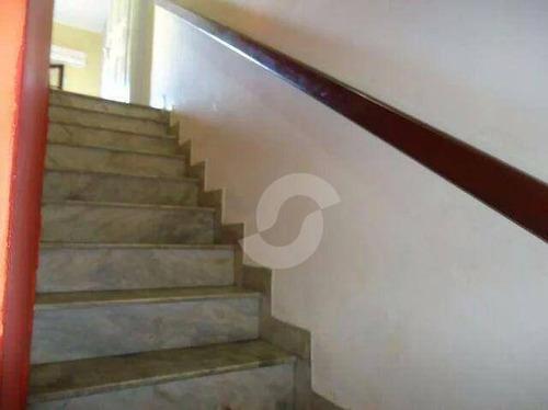 casa residencial à venda, centro, niterói. - ca0800