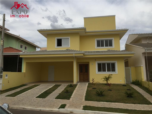 casa residencial à venda, chácara das nações, valinhos. - ca0005