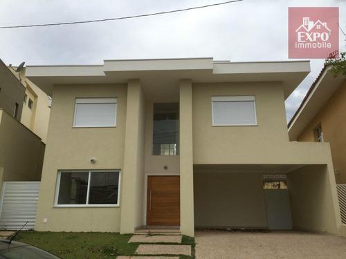 casa residencial à venda, chácara das nações, valinhos. - ca0007