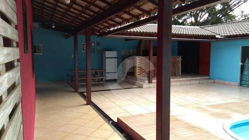 casa residencial à venda, chácaras de inoã (inoã), maricá. - ca0714