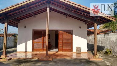 casa residencial à venda, cibratel ii, itanhaém. - ca0101