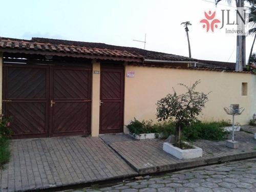 casa  residencial à venda, cibratel ii, itanhaém. - ca0238