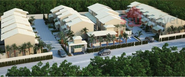 casa  residencial à venda, cidade dos funcionários, fortaleza. - ca0088