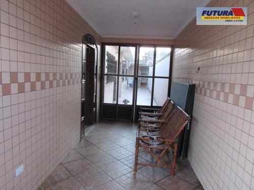 casa residencial à venda, cidade naútica, são vicente. - ca0294