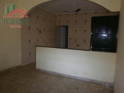 casa residencial à venda, cidade ocian, praia grande. - ca0221