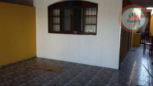 casa residencial à venda, cidade ocian, praia grande. - ca0274