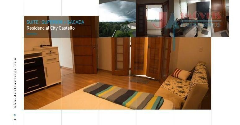 casa residencial à venda, city castello, itu. - ca1416