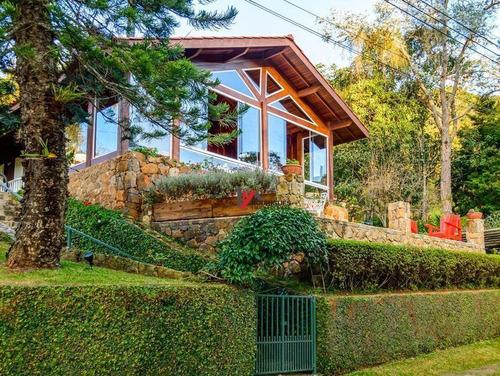 casa residencial à venda, clube da montanha, atibaia. - ca1342