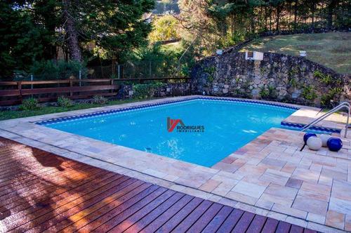 casa residencial à venda, clube da montanha, atibaia. - ca1424