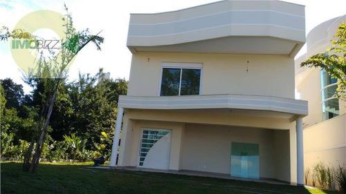 casa residencial à venda, cond. residencial porto seguro village, valinhos. - ca1419