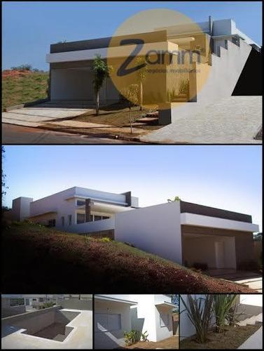 casa residencial à venda, cond. vila real, valinhos. - codigo: ca1235 - ca1235