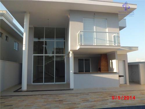 casa  residencial à venda, cond. zurich dorf, valinhos. - ca0810