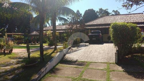 casa residencial à venda, condado de maricá, maricá. - ca1046