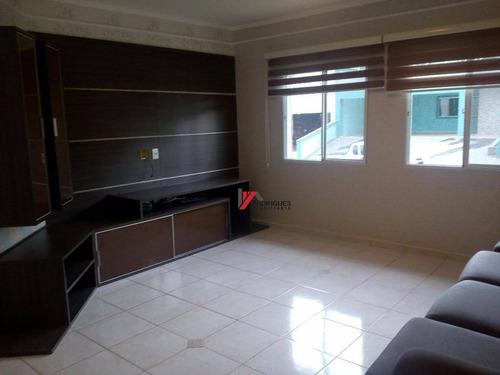casa residencial à venda, condominio alto da floresta, atibaia. - ca1478