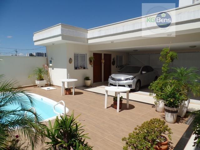 casa residencial à venda, condomínio athenas, paulínia. - ca0132