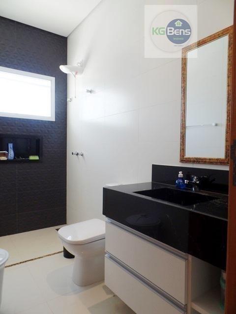 casa residencial à venda, condomínio athenas, paulínia. - ca0230