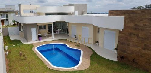 casa residencial à venda, condomínio campo de toscana, vinhedo - ca1079. - ca1079