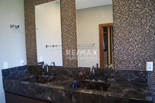 casa residencial à venda, condomínio campo de toscana, vinhedo. - ca6285