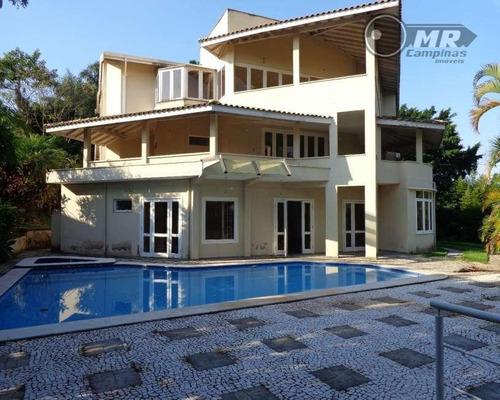 casa residencial à venda, condomínio chácaras do alto da nova campinas, campinas. - ca0236