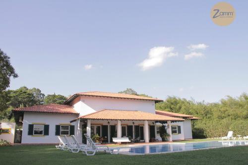 casa residencial à venda, condomínio chácaras do alto da nova campinas, campinas - ca0524. - ca0524