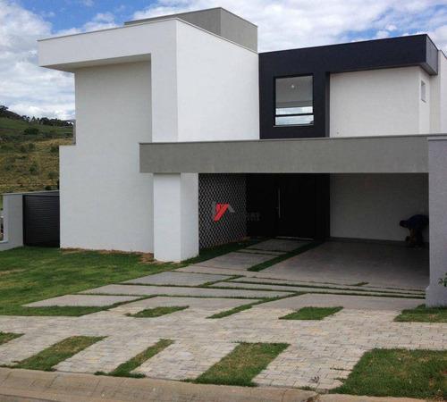 casa residencial à venda, condominio figueira garden, atibaia - ca0852. - ca0852