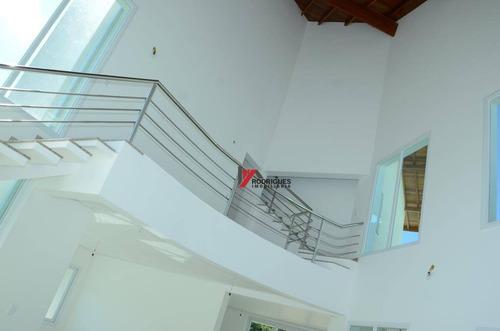 casa residencial à venda, condominio figueira garden, atibaia. - ca1454