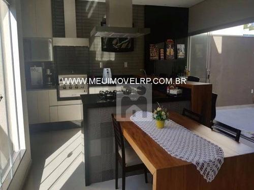 casa residencial à venda, condomínio guaporé, ribeirão preto - ca0105. - ca0105