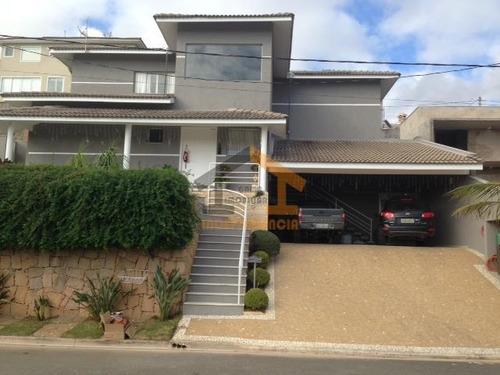 casa residencial à venda, condomínio itatiba country club, itatiba. - ca0068