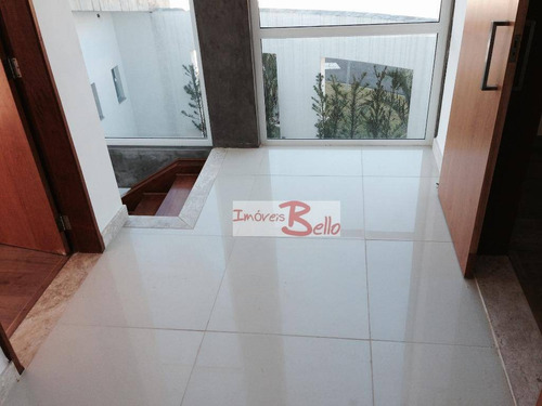 casa residencial à venda, condomínio itatiba country club, itatiba. - ca0135