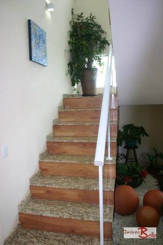 casa residencial à venda, condomínio itatiba country club, itatiba. - ca0814