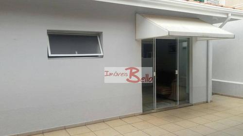 casa residencial à venda, condomínio itatiba country club, itatiba. - ca0950