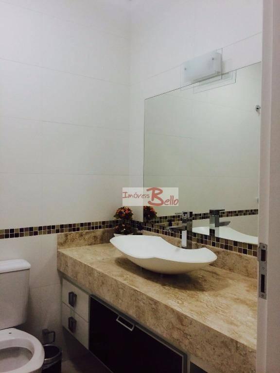 casa residencial à venda, condomínio itatiba country club, itatiba. - ca1039
