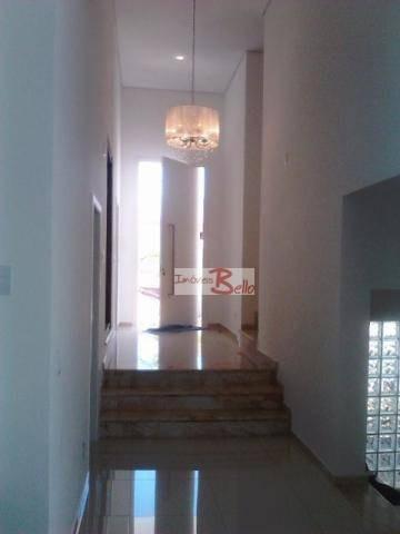 casa residencial à venda, condomínio itatiba country club, itatiba. - ca1079