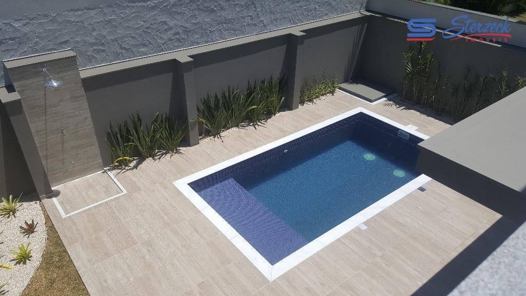 casa residencial à venda, condomínio jardim das palmeiras, vinhedo - ca0934. - ca0934