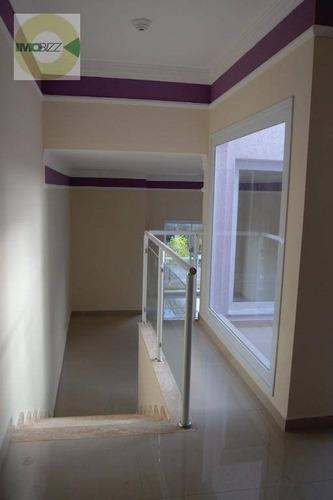 casa residencial à venda, condomínio le village, valinhos. - ca1206