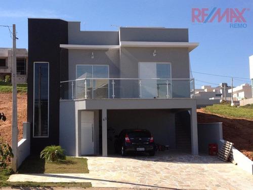 casa residencial à venda, condomínio le village, valinhos - ca5048. - ca5048