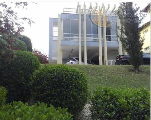 casa residencial à venda, condomínio marambaia, vinhedo. - ca0093