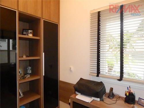 casa  residencial à venda, condomínio millenium, valinhos. - ca3587