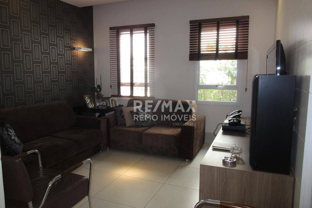 casa  residencial à venda, condomínio millenium, valinhos/sp - ca3587