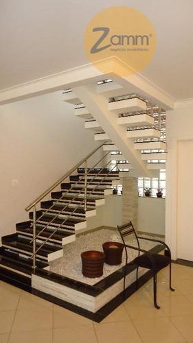 casa  residencial à venda, condomínio moinho do vento, valinhos. - codigo: ca1281 - ca1281