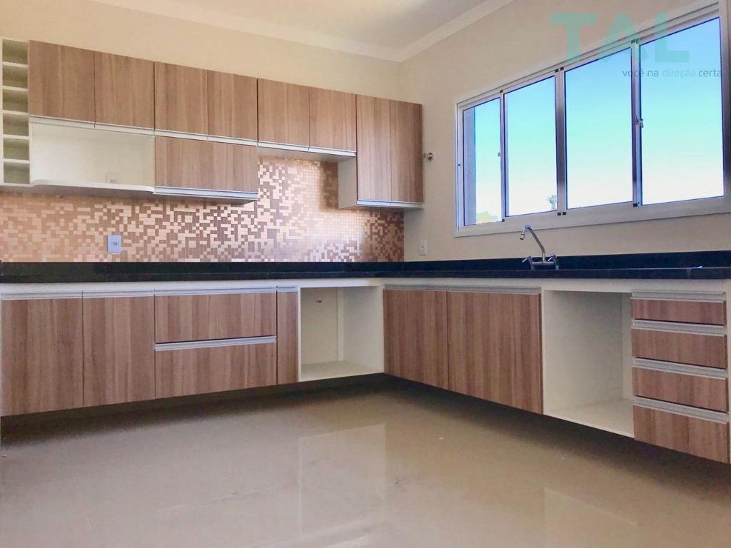 casa residencial à venda, condomínio, nova, colinas dos álamos, valinhos. - ca0152