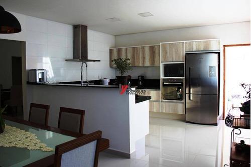 casa residencial à venda, condominio parque das garças ii, atibaia. - ca1351