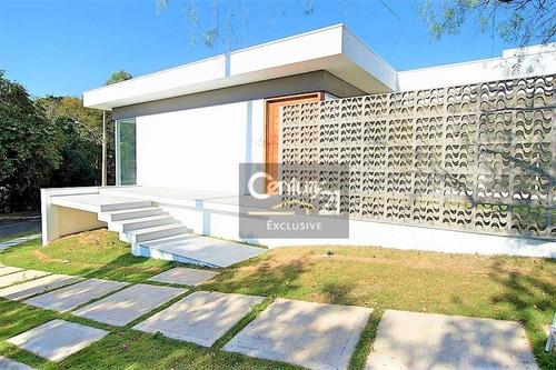casa residencial à venda, condomínio portal de itaici, indaiatuba. - ca0364