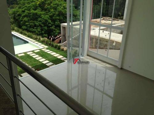 casa residencial à venda, condomínio porto atibai, atibaia. - ca0650