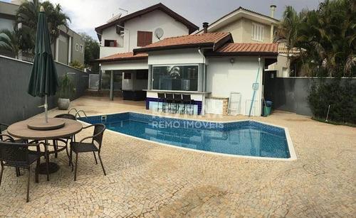casa residencial à venda, condomínio reserva colonial, valinhos - ca6234 - ca6234